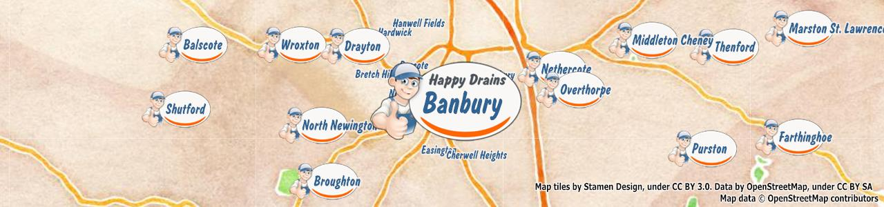 Blocked drain Banbury OX15