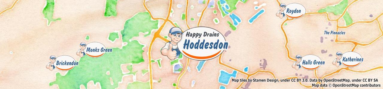 Blocked drain Hoddesdon EN11