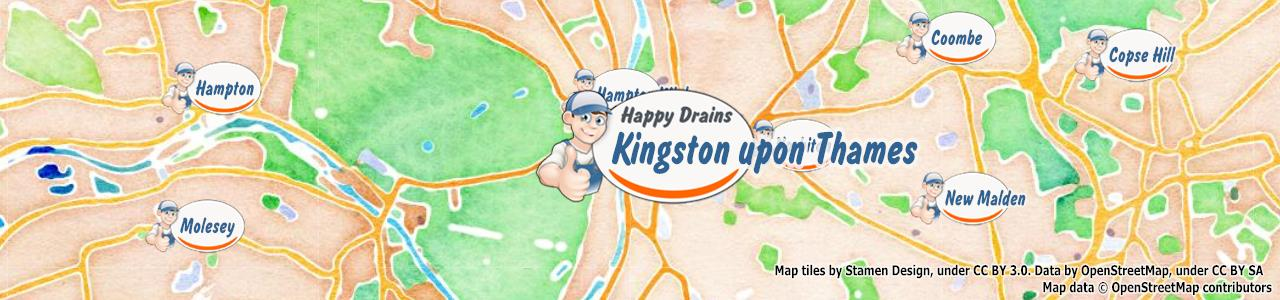 Blocked drain Kingston Upon Thames KT1