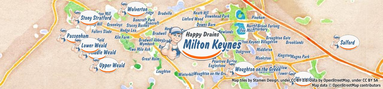 Blocked drain Milton Keynes MK1