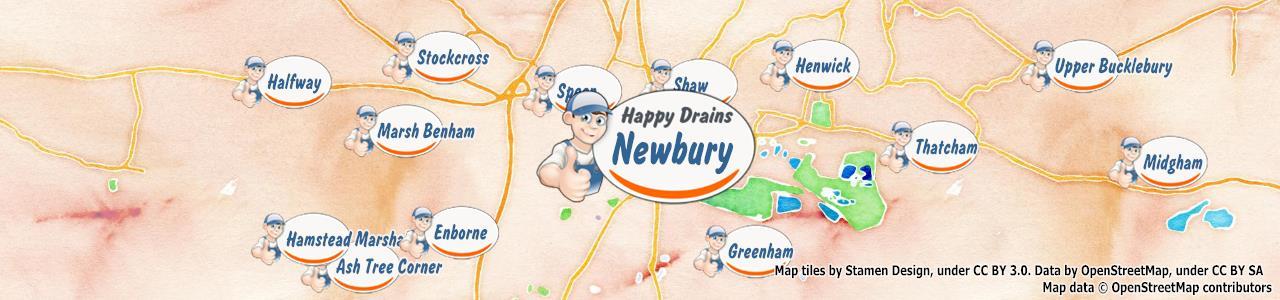 Blocked drain Newbury RG14