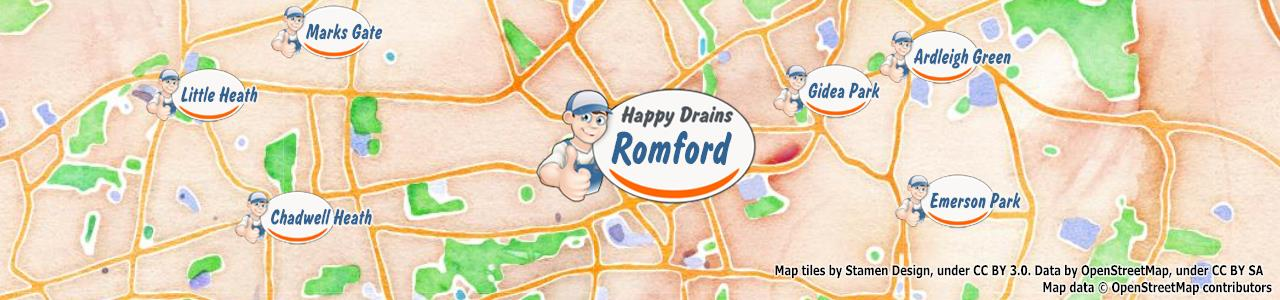 Romford RM1 blocked drain repair clearance cleaning – Happy