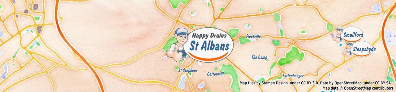 Blocked drain St Albans AL1