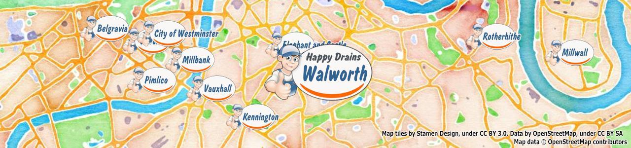 Blocked drain Walworth SE17
