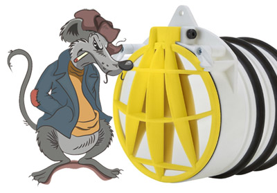 Anti-Vermin Non-Return-Valve (Rat Stopper)