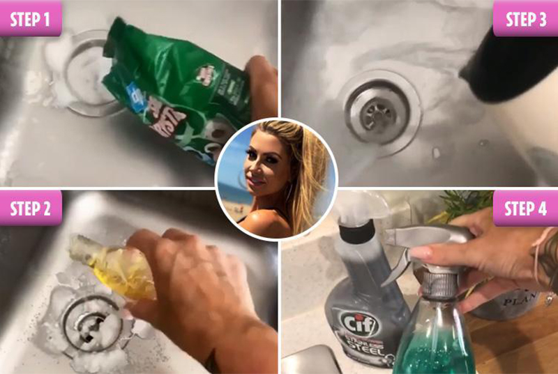 Cleaning Your Sink Like Mrs Hinch Happy Drains